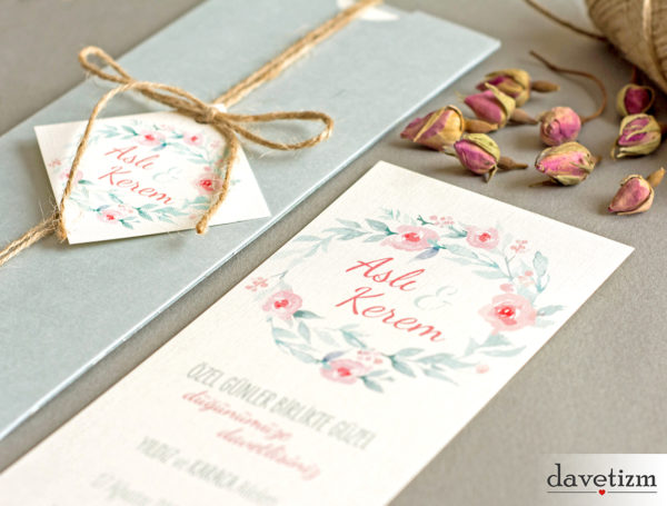 düğün davetiye tasarımı